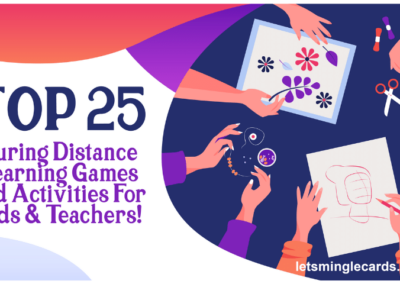 TOP 25 During Distance Learning Games and Activities For Kids & Teachers!
